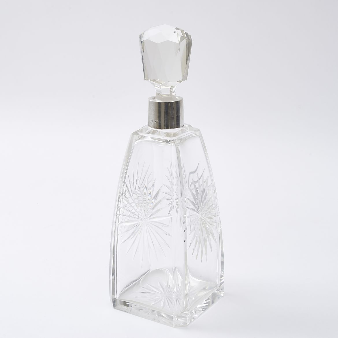 James Dixon and Sons Art Deco Decanter