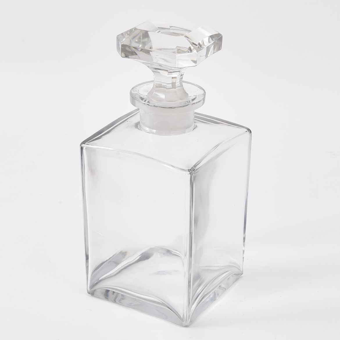 Edwardian Square Decanter