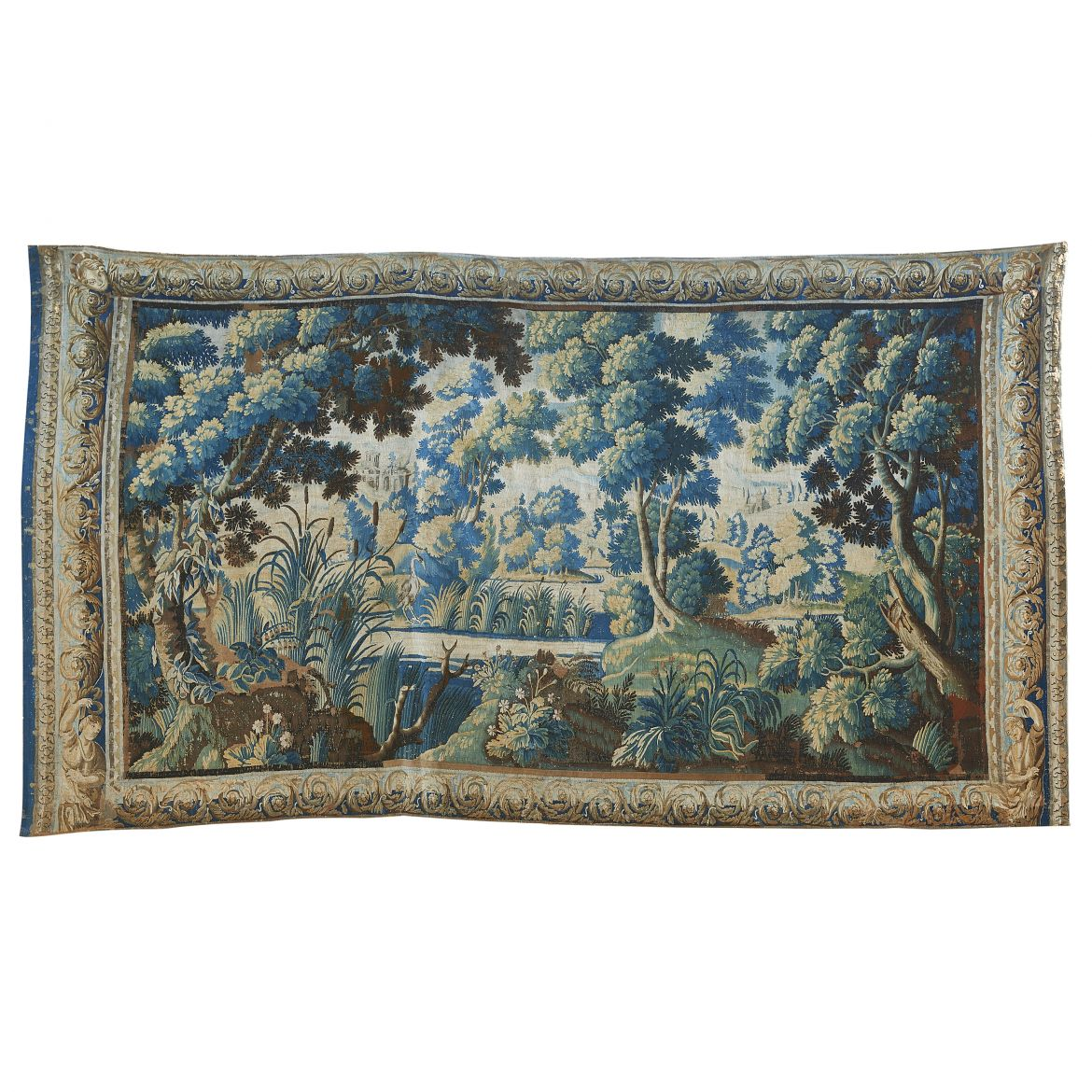 Verdure Tapestry Of Country Scene