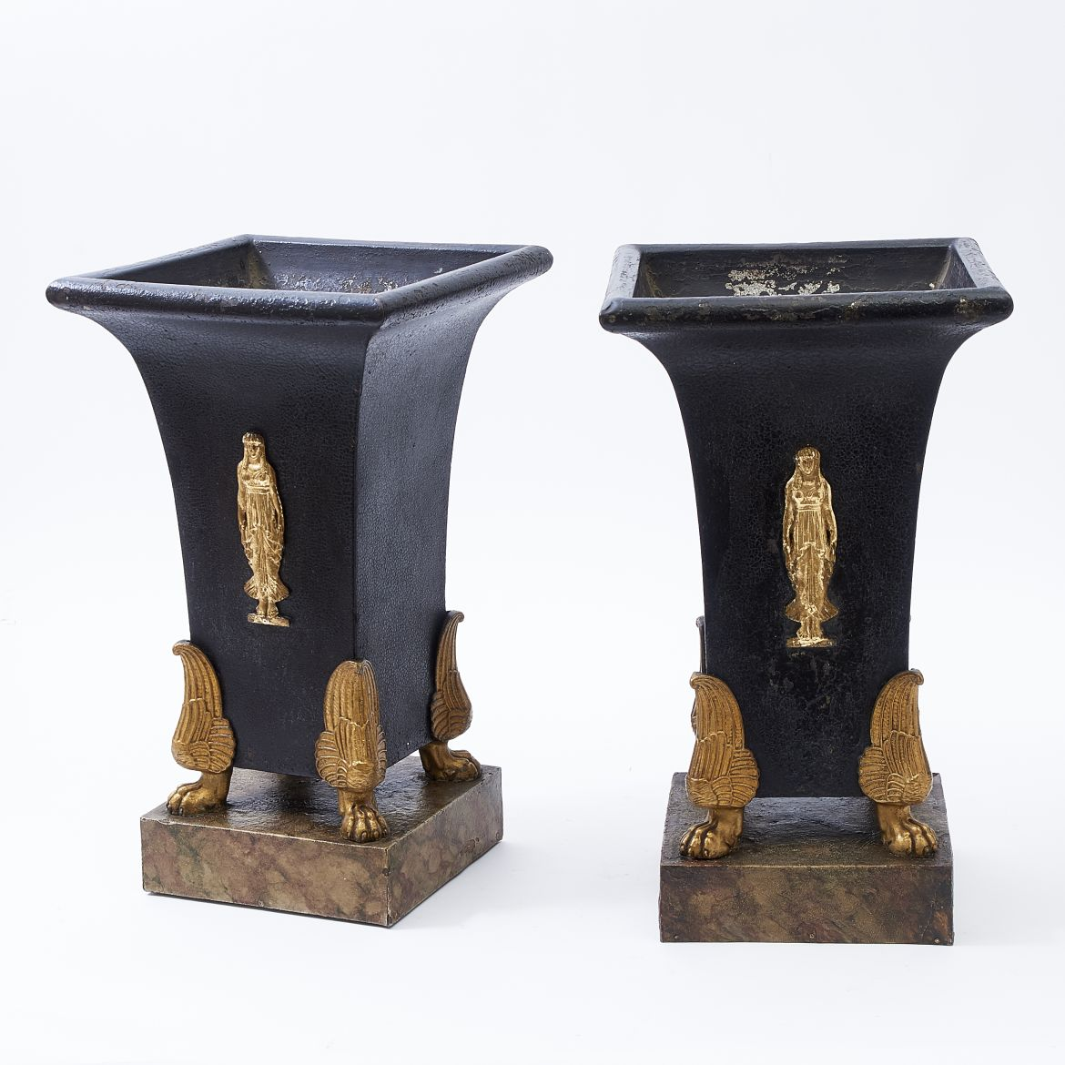 Pair Jardinieres With Ormolu Mounts