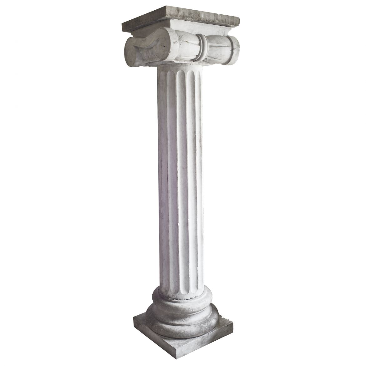 Oversized Carrara Marble Column