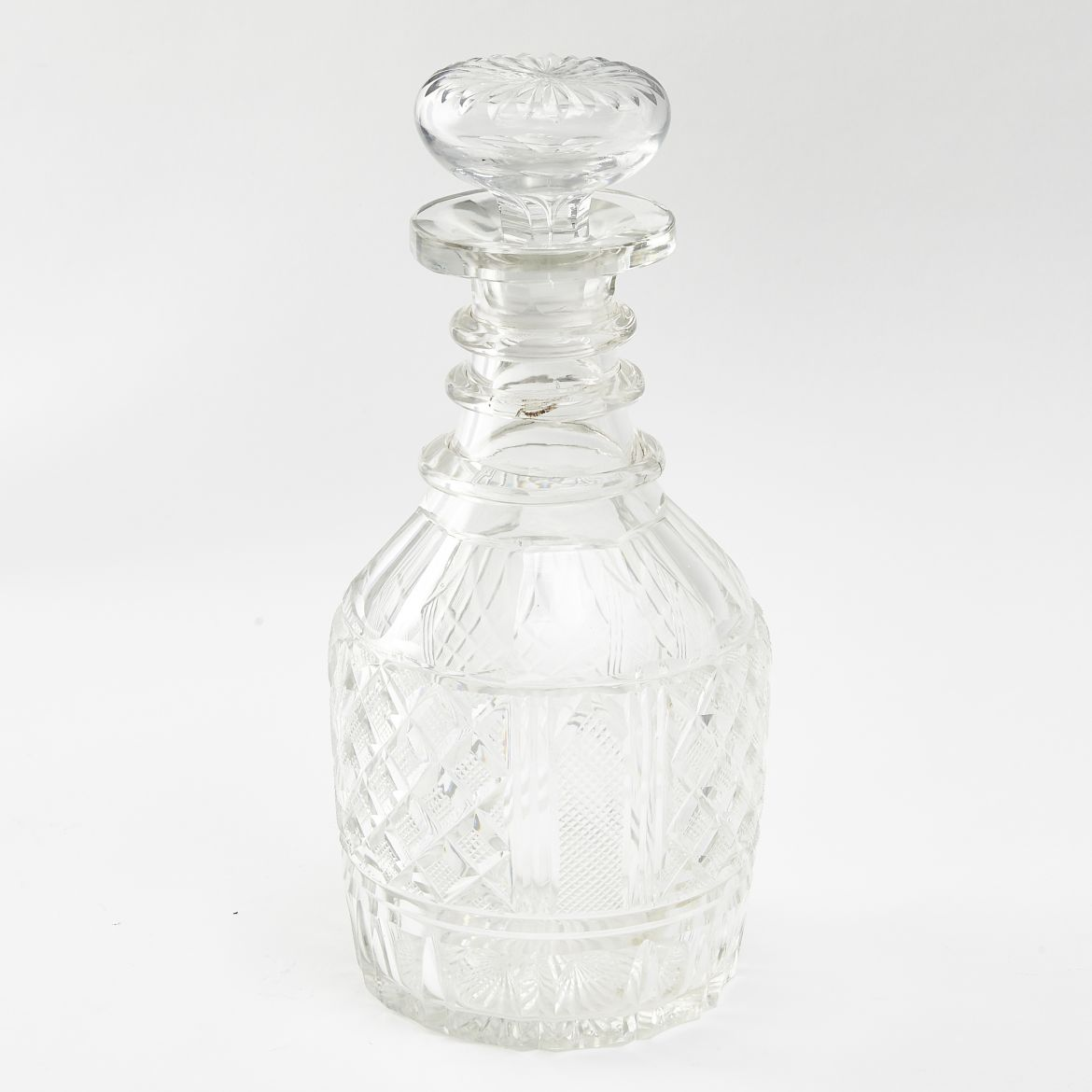 Late Regency Mallet Decanter