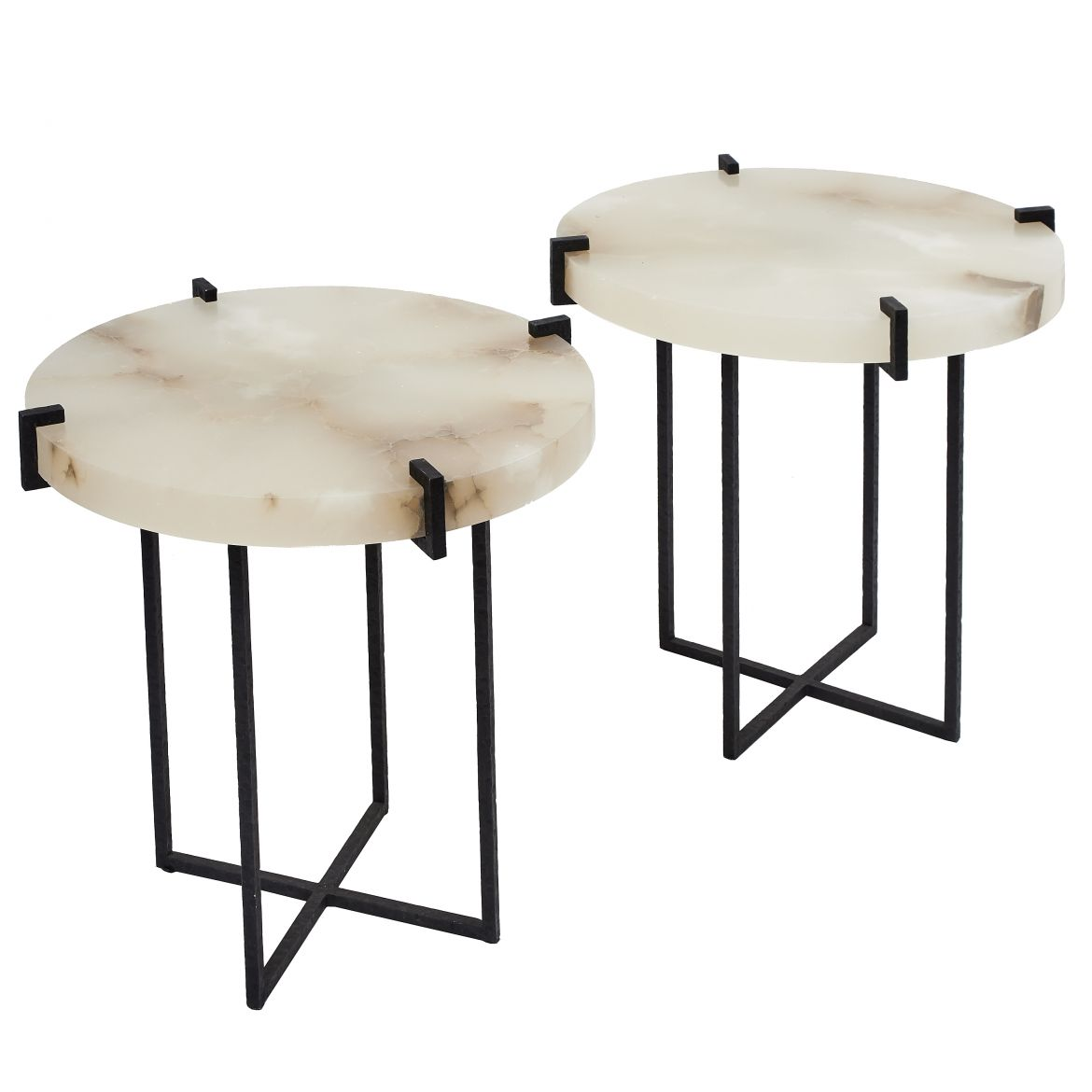 Alabaster 'Julien' Tables