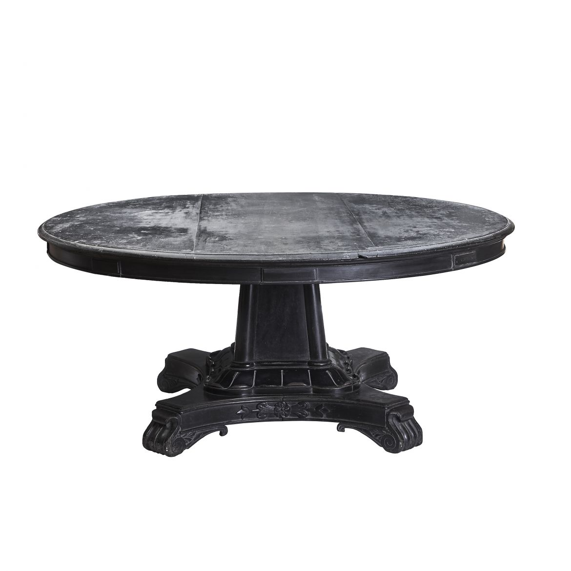 Anglo Indian Ebonised Mahogany Table