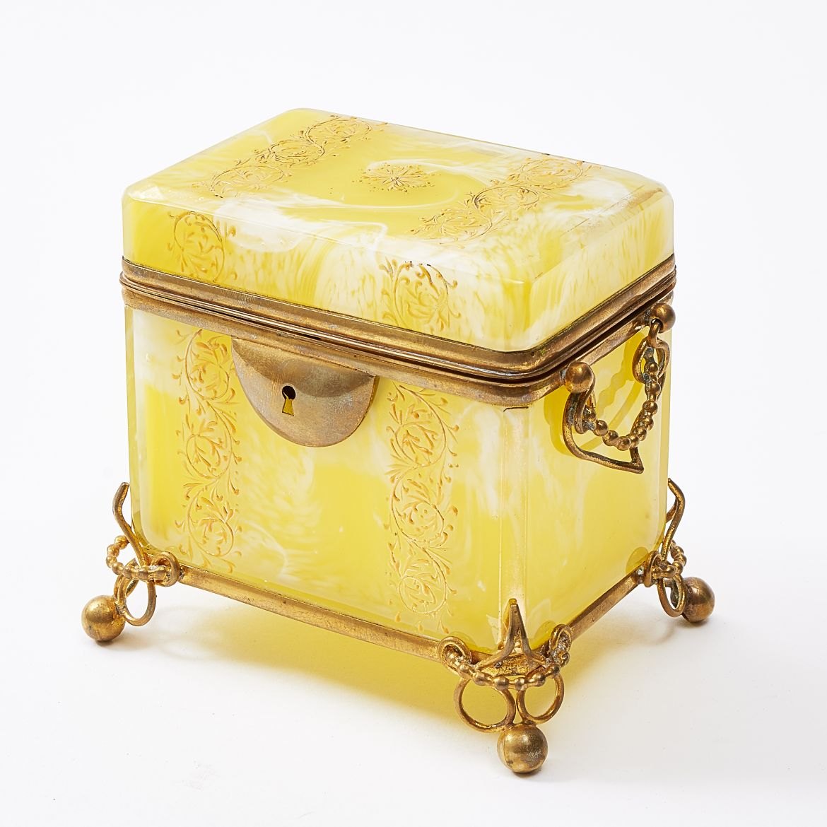 Moser Yellow Casket