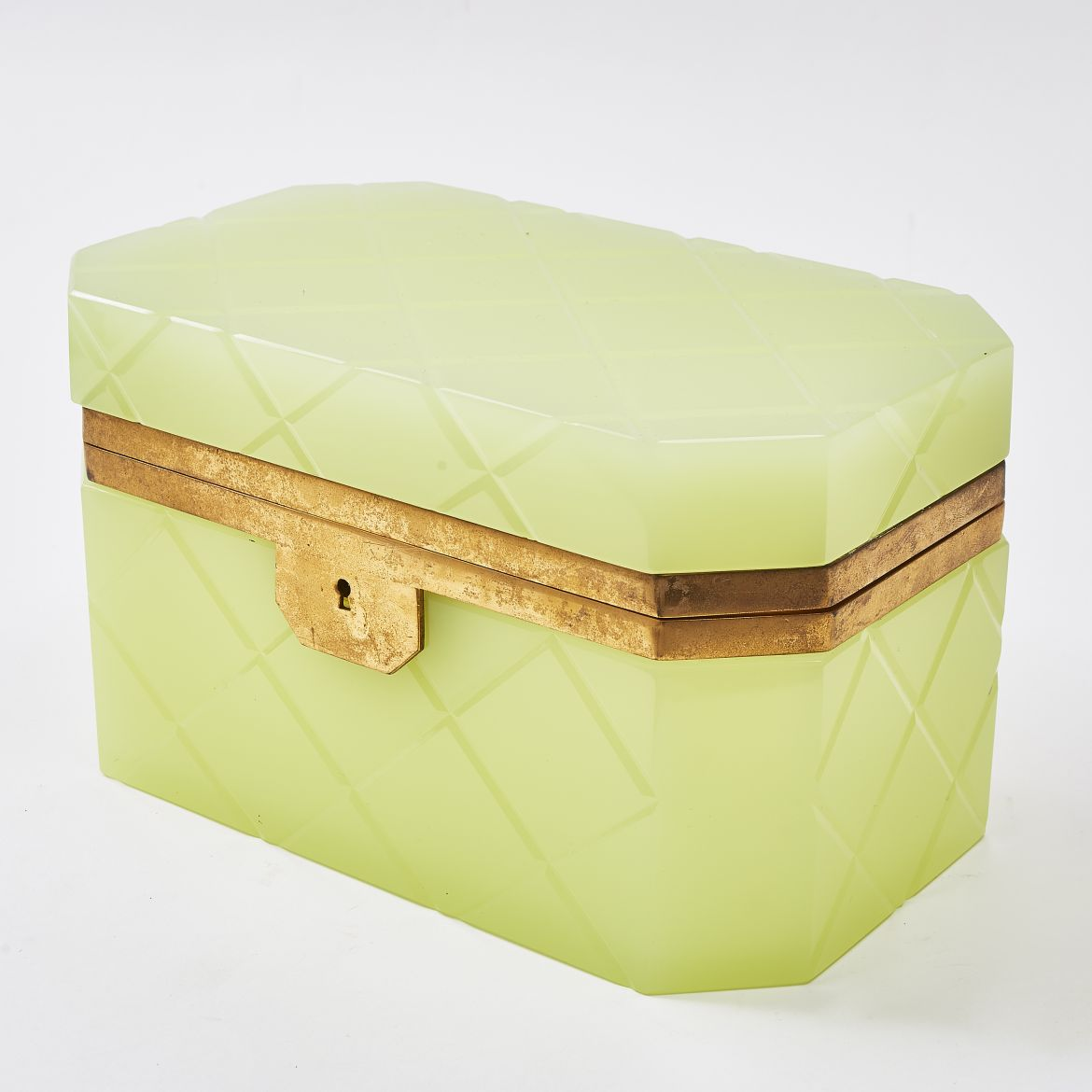 Large Lemon Yellow Casket
