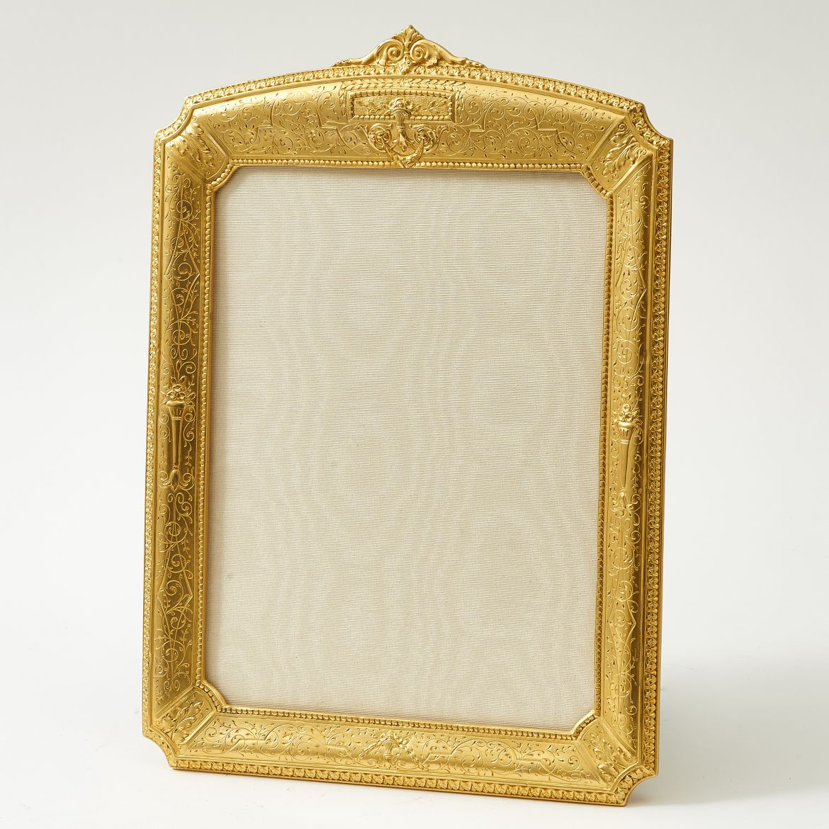 Shaped Ormolu Frame
