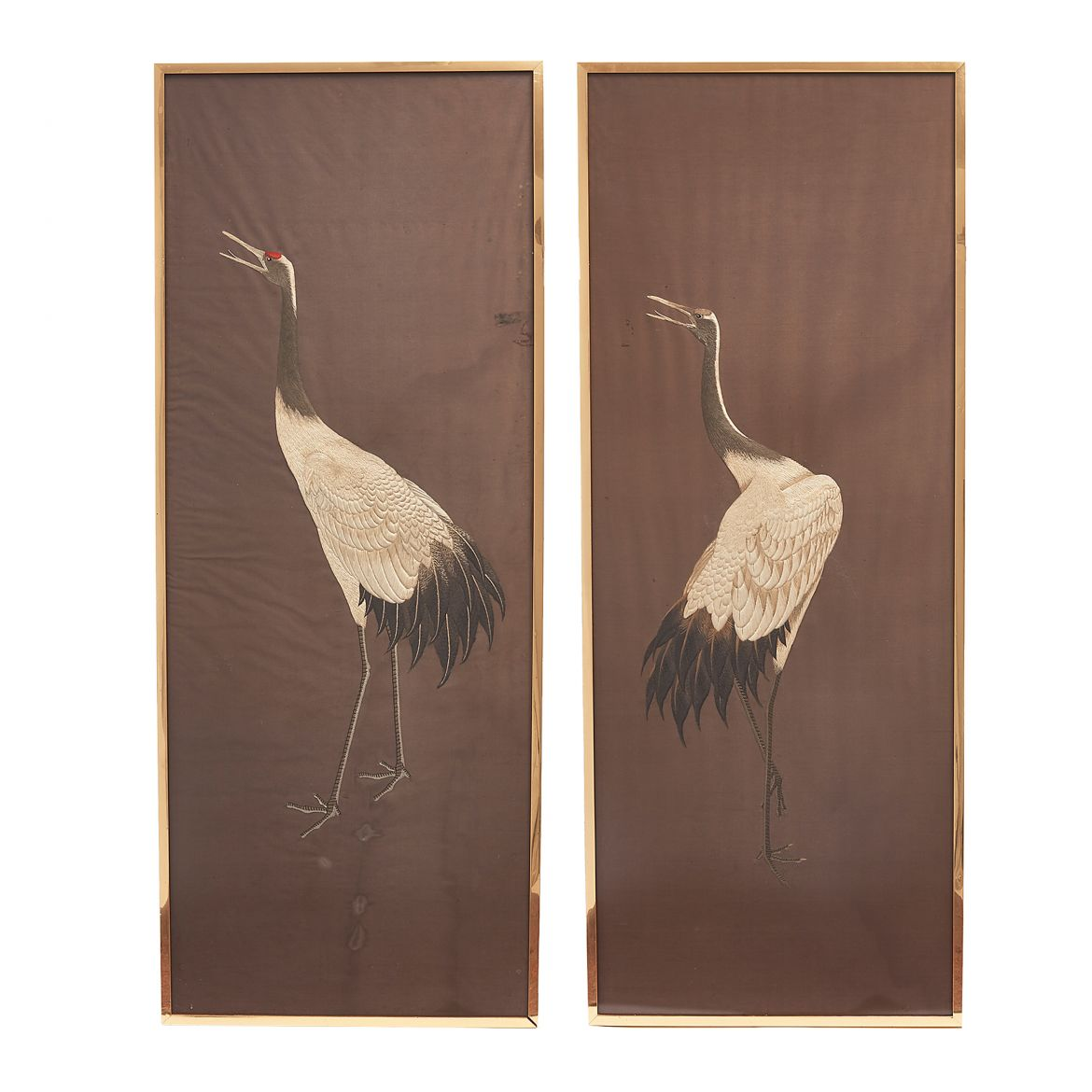Japanese Embroidered Panels