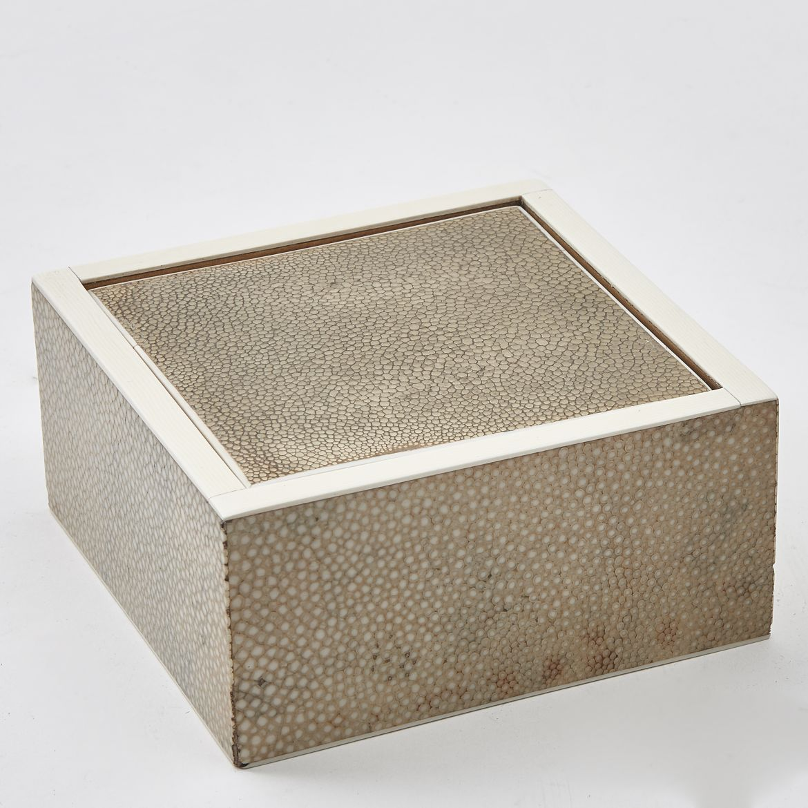 Square Shagreen Box