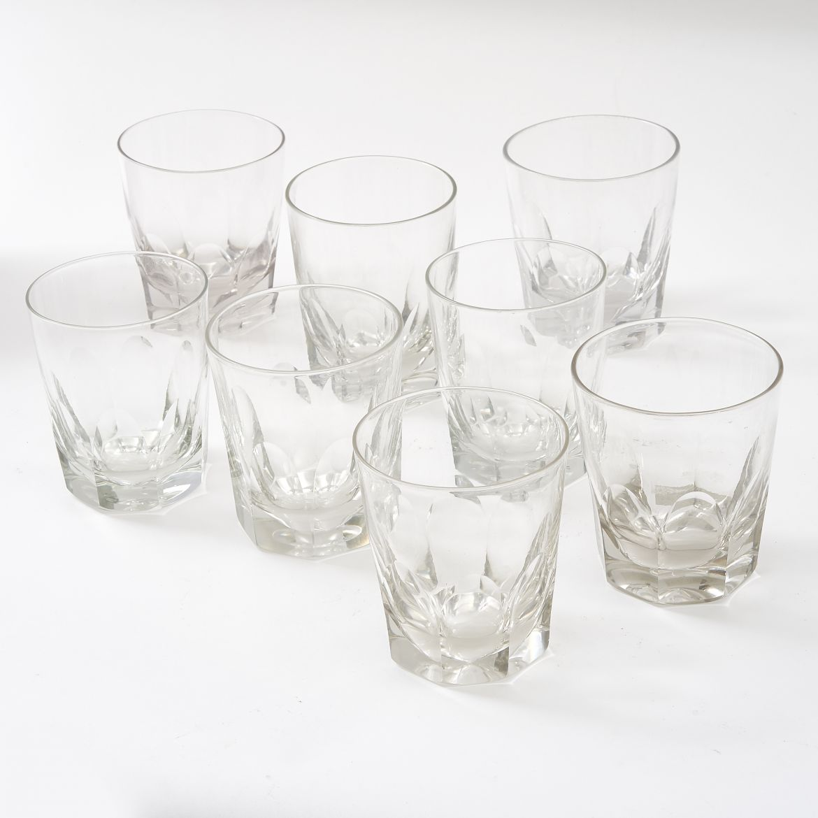 Eight George IV Whisky Tumblers