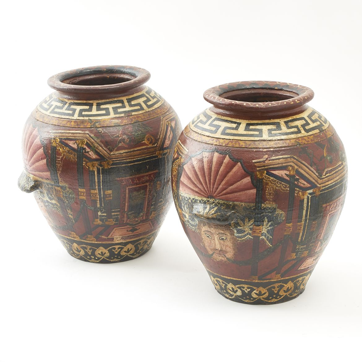 Painted Pompeian Vases