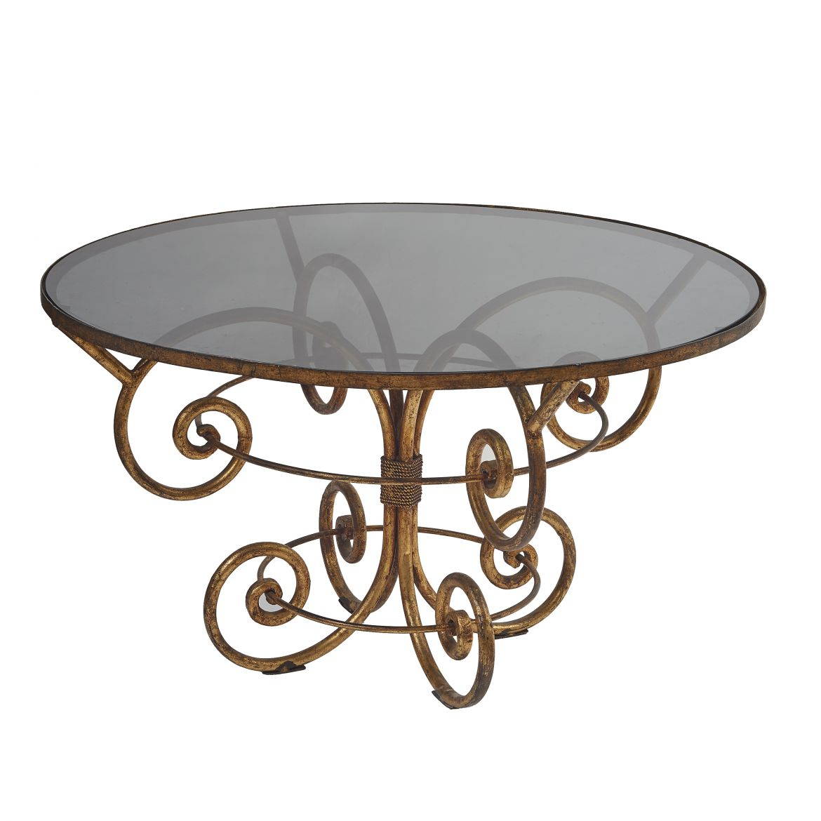 Gilded Iron Centre Table