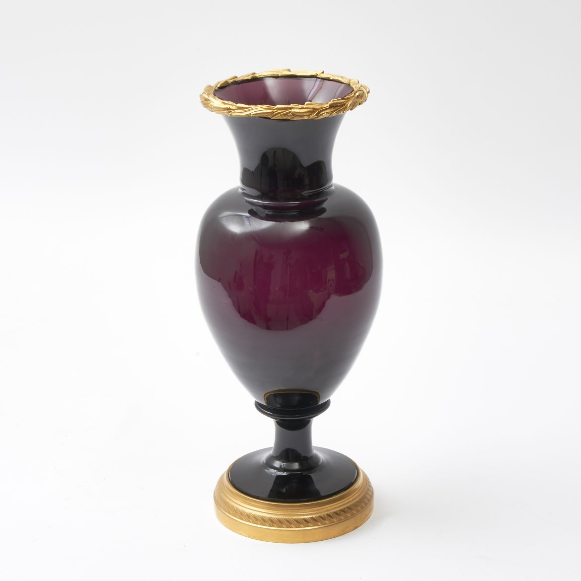 Amethyst Glass Vase