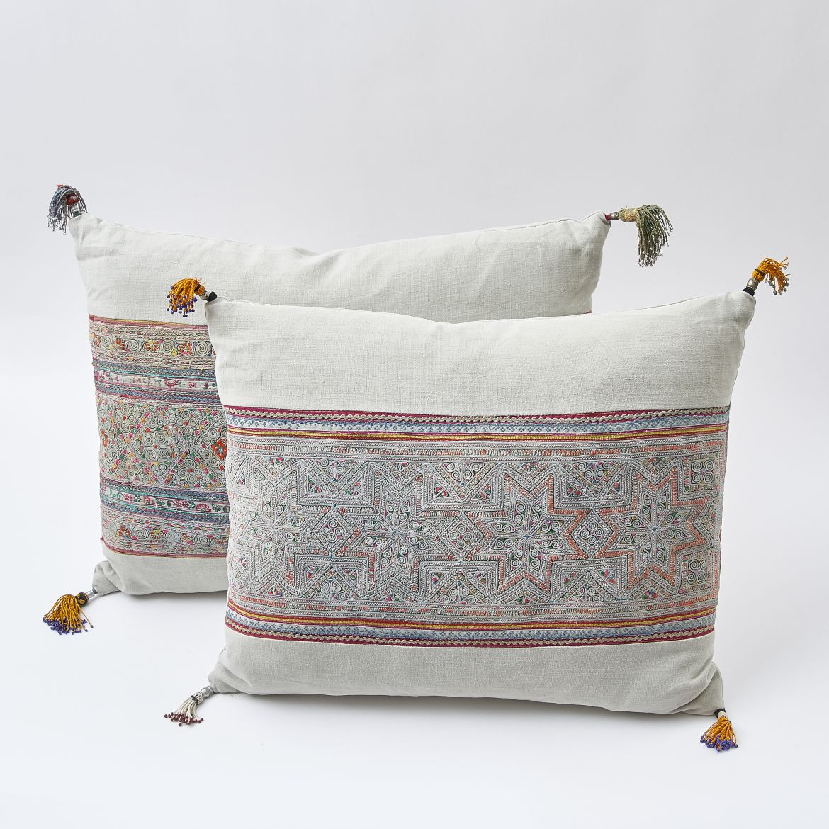 Miao Fabric & Linen Cushions