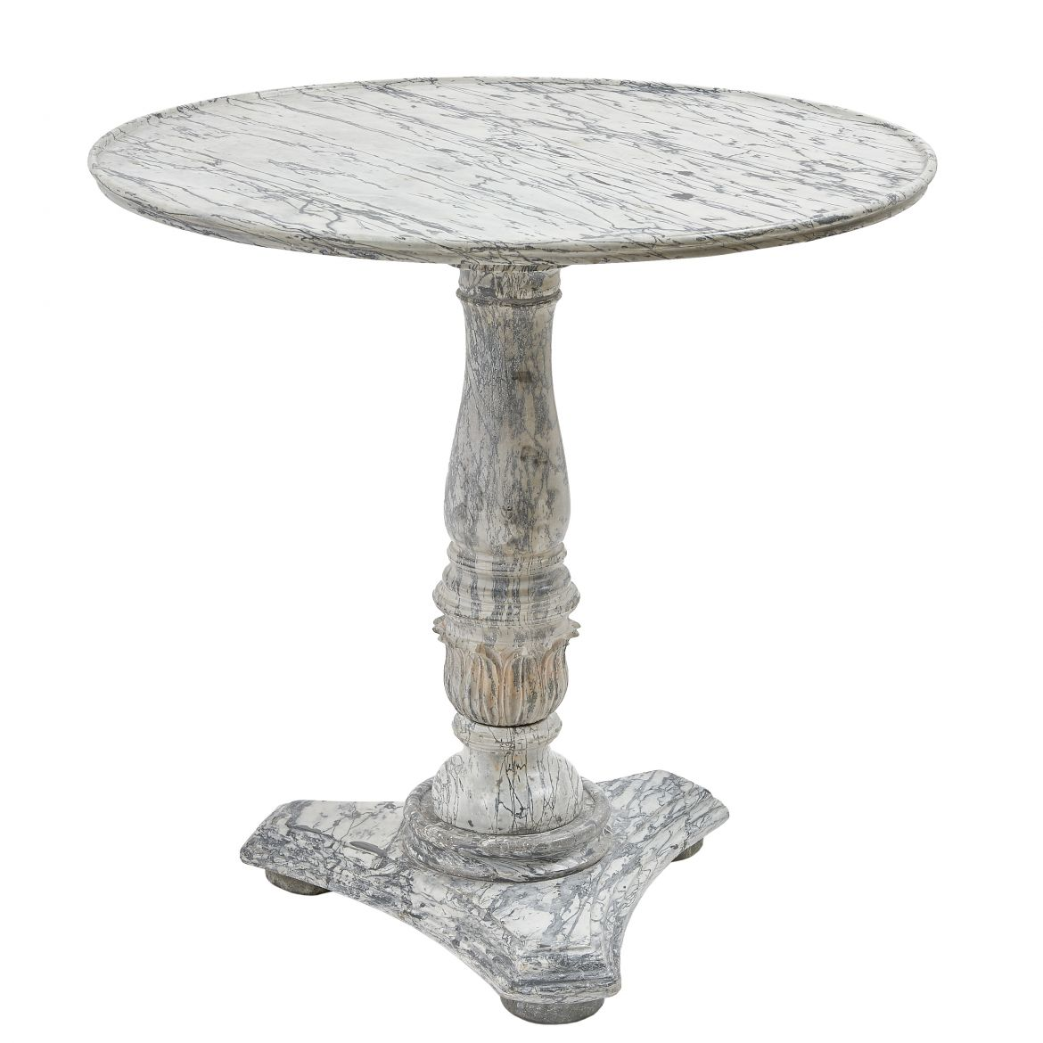 Louis Philippe Marble Table