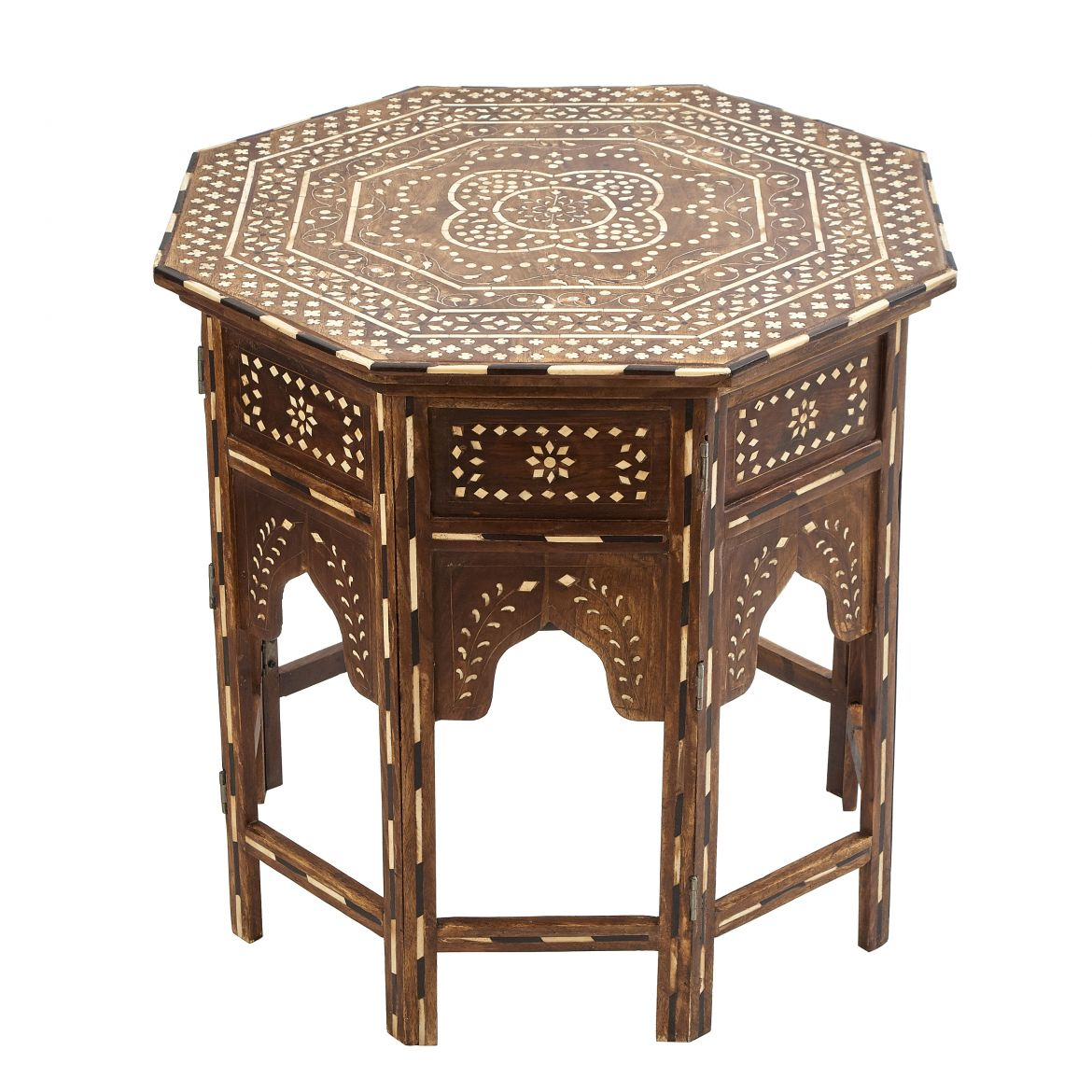 Octagonal Inlaid Table