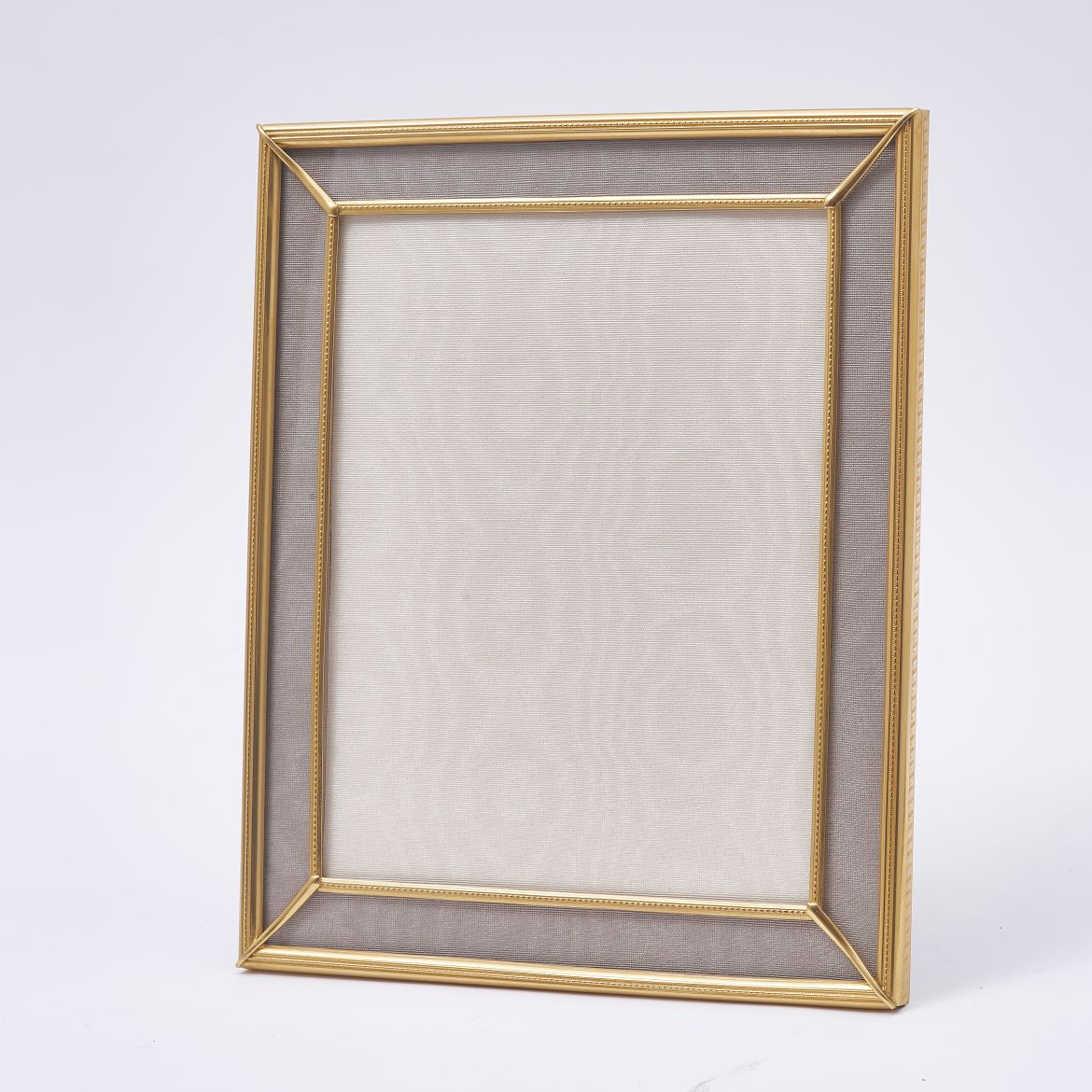 Gilt Photo Frame With Taupe Slip