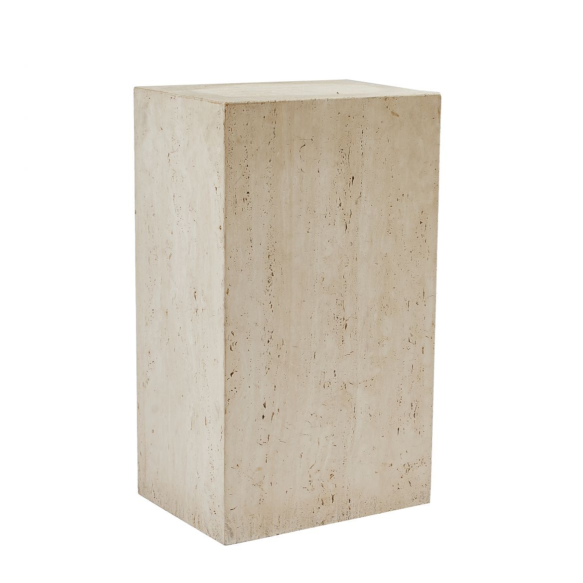 Italian Travertine Plinth