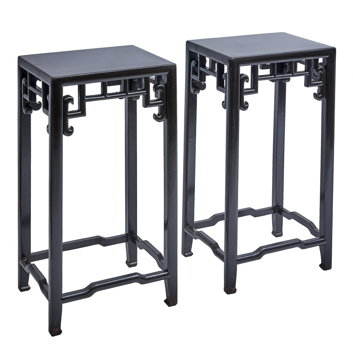 Pair Chinese Tea Tables