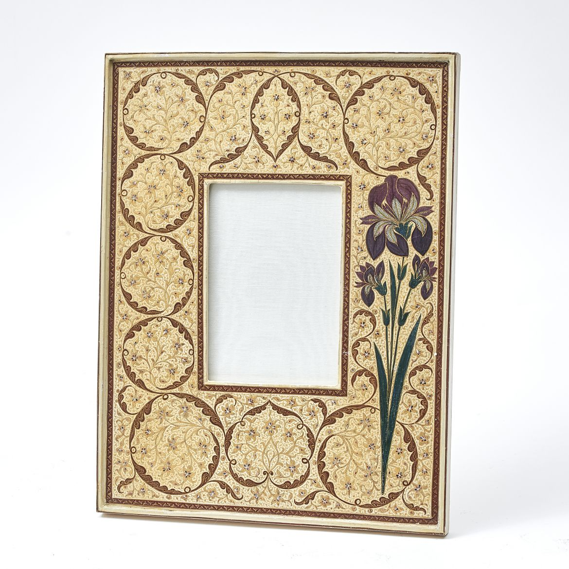 Kashmir Iris Photo Frame