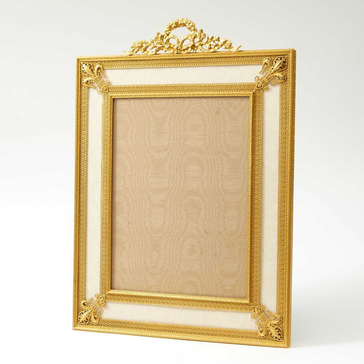 Unusually Large Gilt Bronze Photo Frame