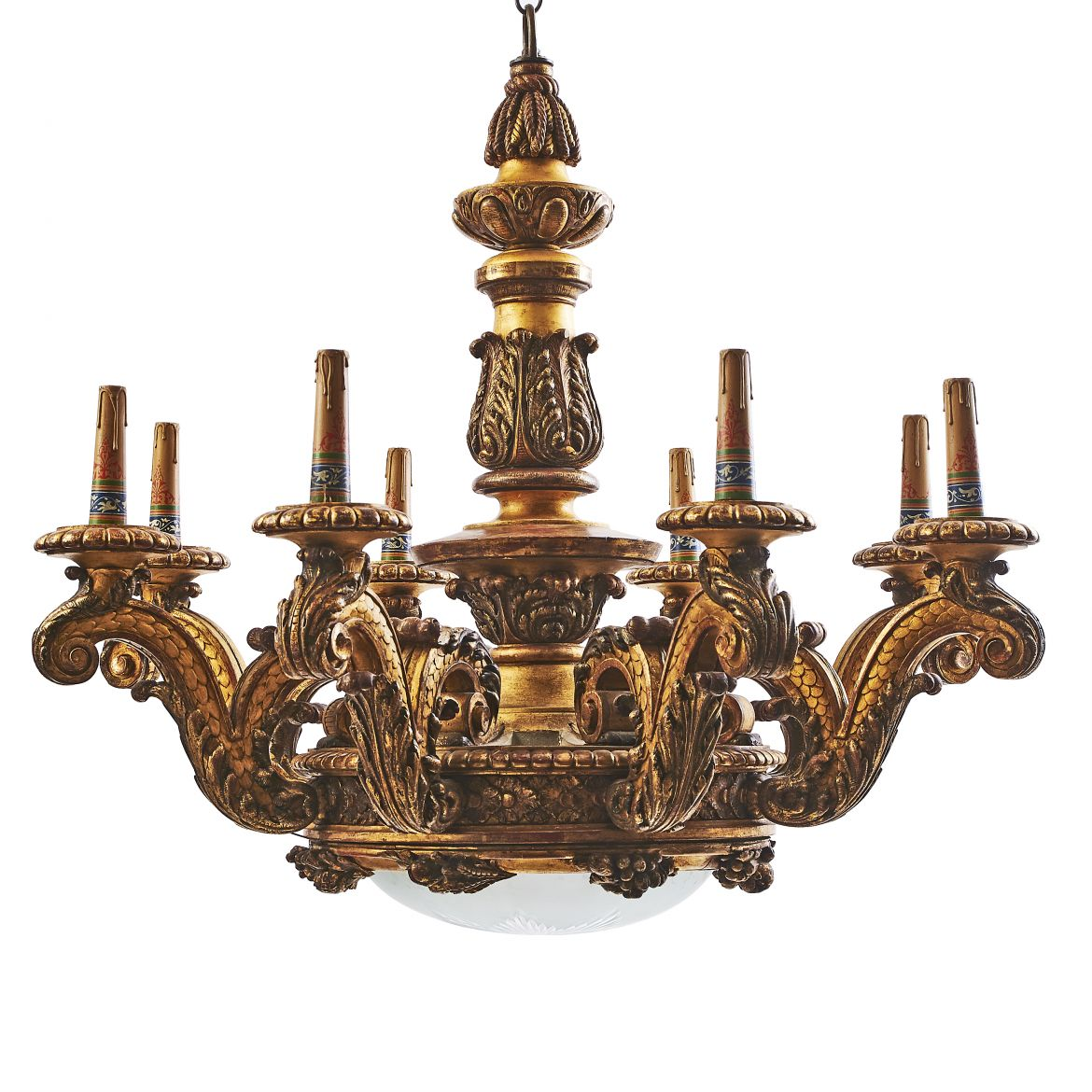 French Baroque Style Chandelier