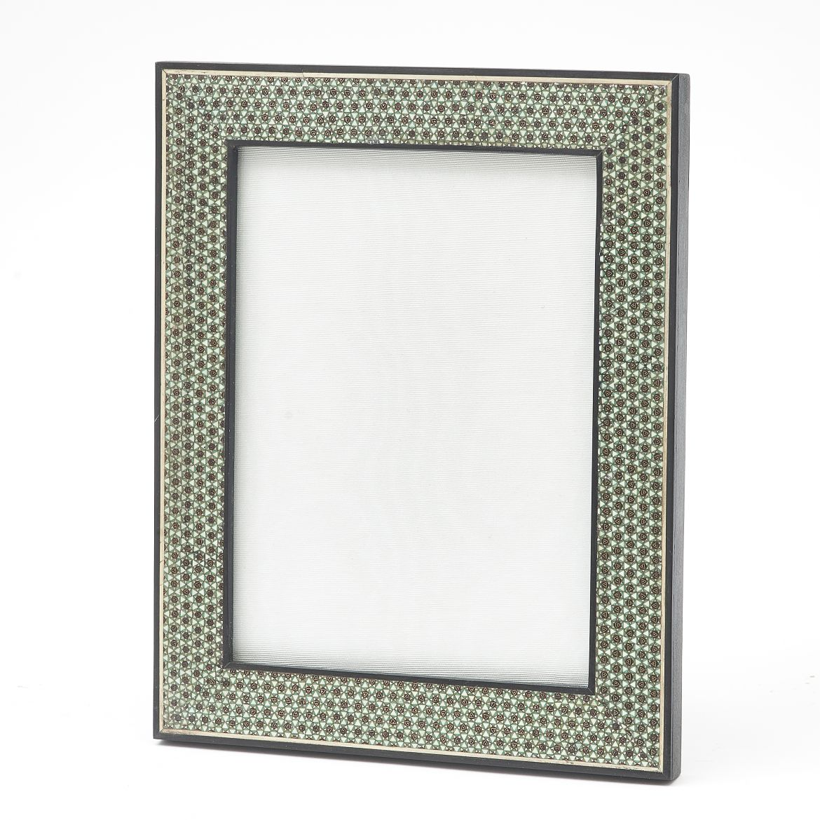 Green & White Sadeli Frame