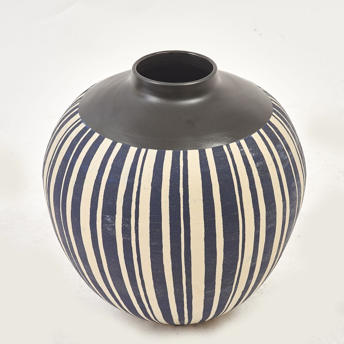 Japanese Striped Jar
