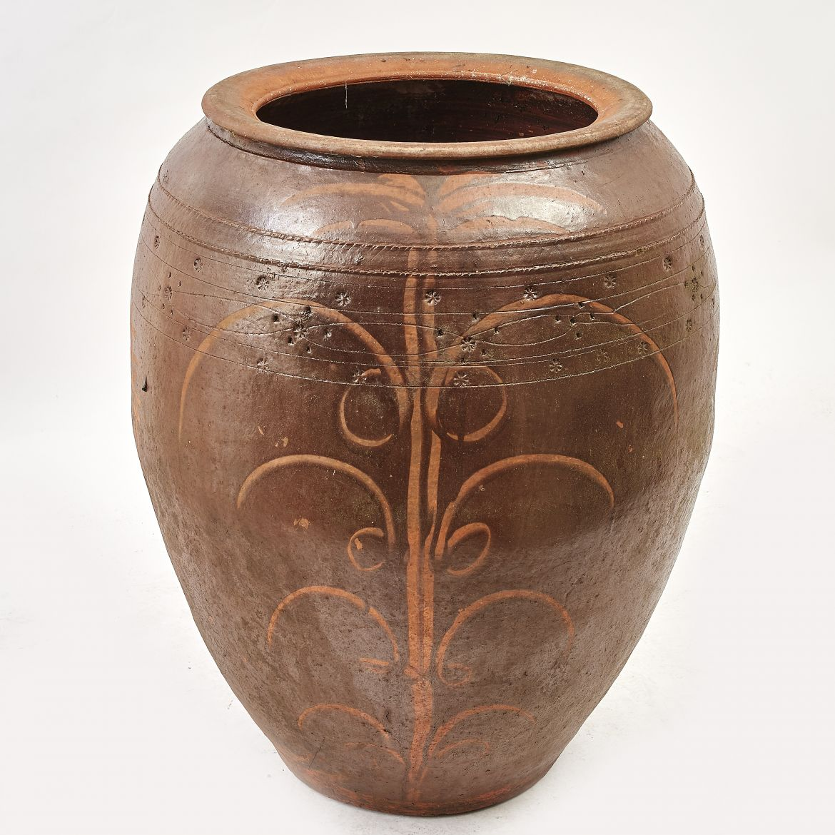 Large Korean Pottery Jar