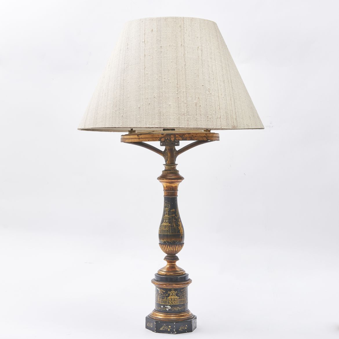 Louis Philippe Tole Lamp
