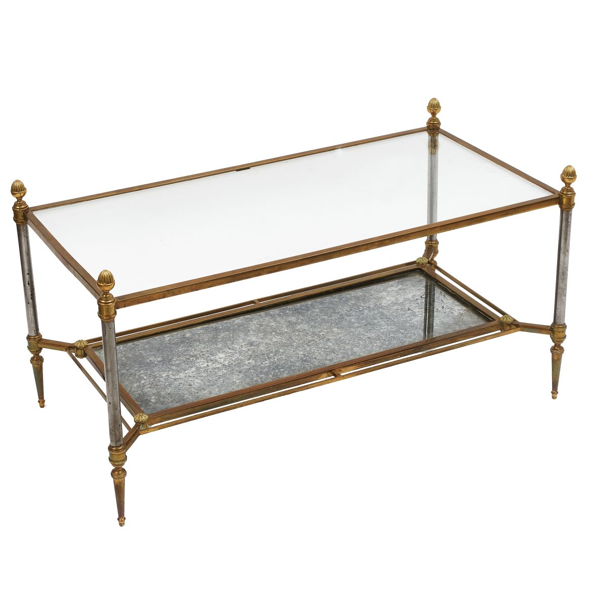 "French ""Maison Jansen"" Style Coffee Table"