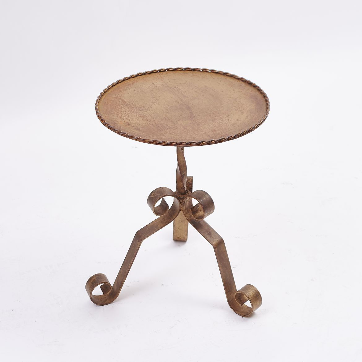 Spanish Gilt 'Martini' Table