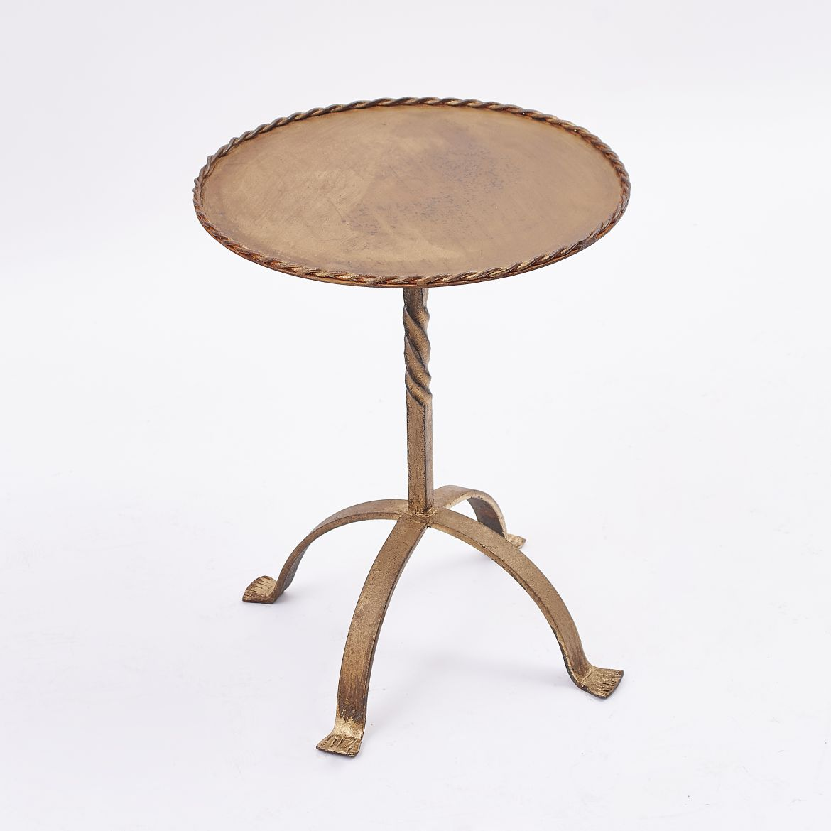 Gilt 'Martini' Table