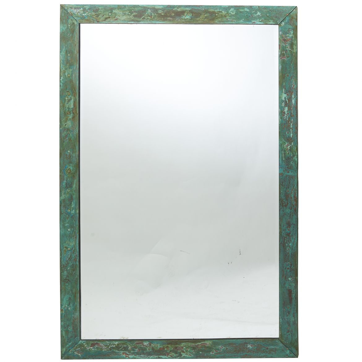 Verdigris Copper Framed Mirror