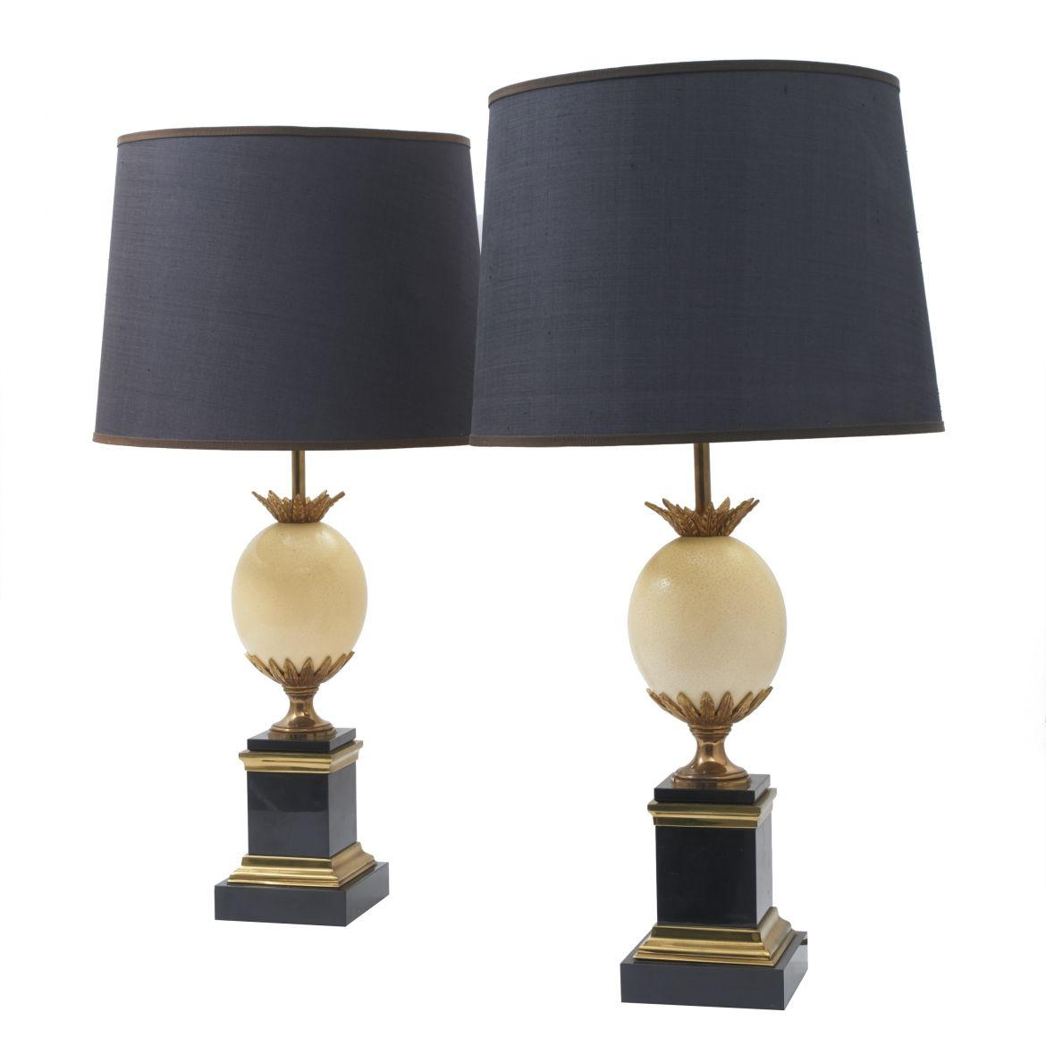 Pair Maison Charles Lamps