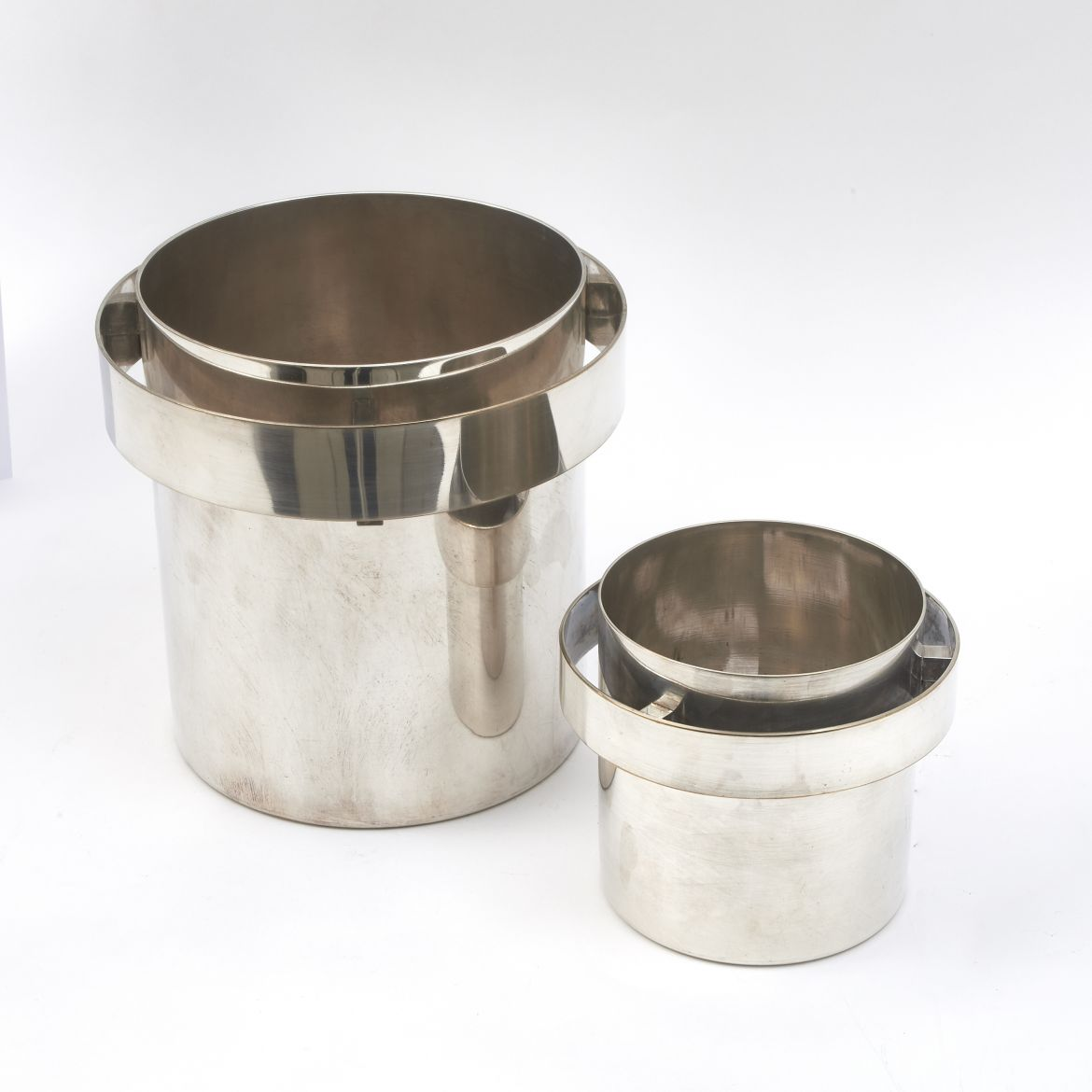 Silver Plated Champagne & Ice Buckets