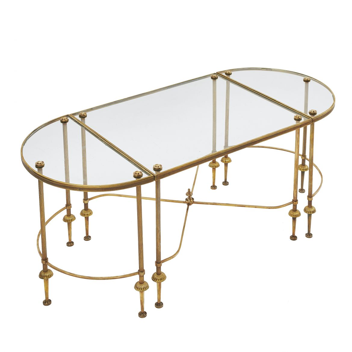 Brass Three Part Table