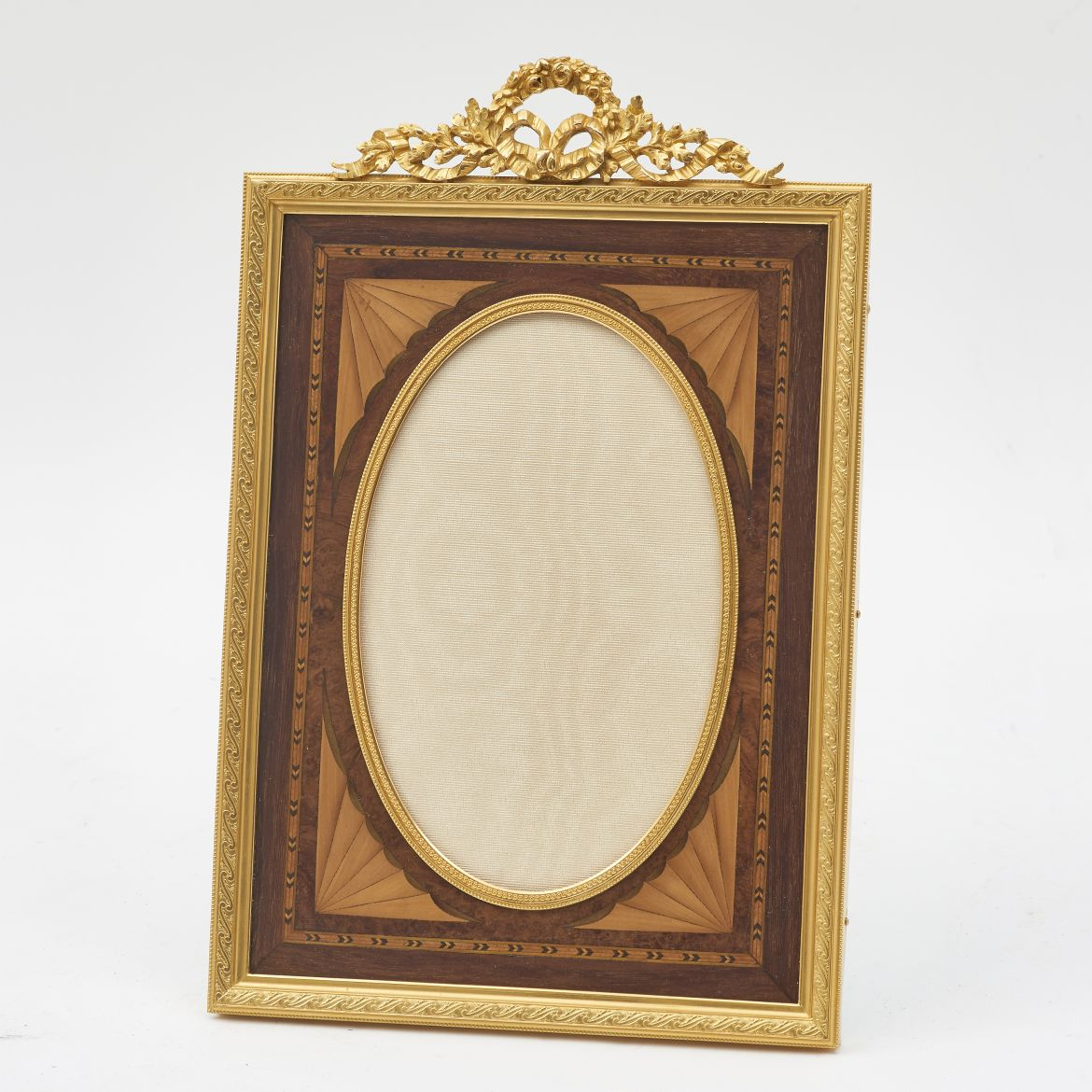 Ormolu Frame With Marquetry
