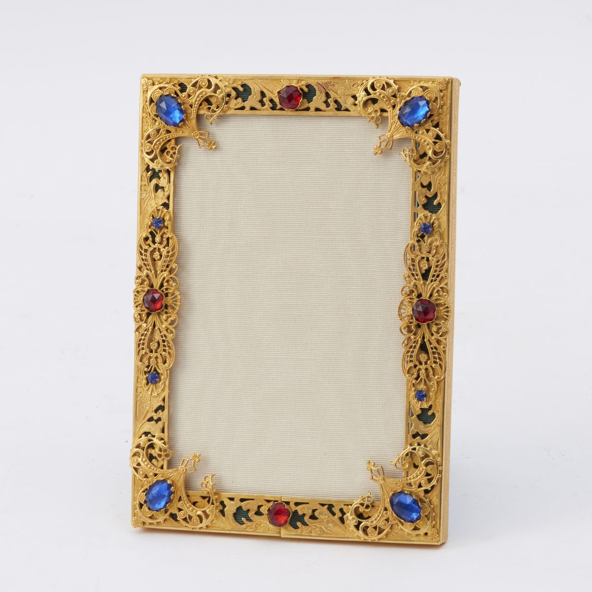 Frame Overlaid With Paste Stones