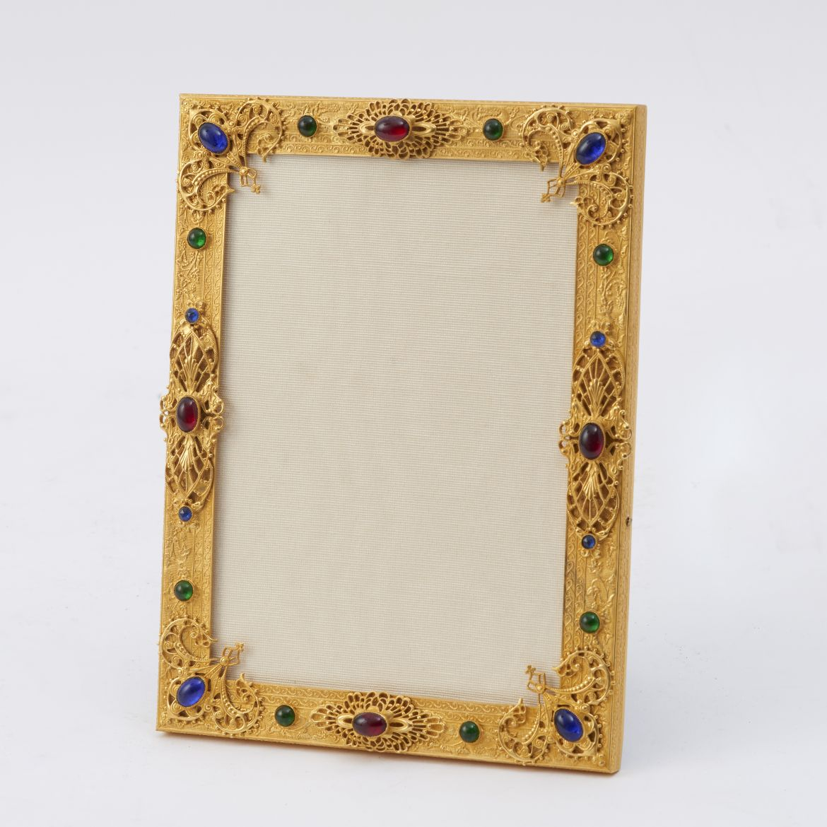 Frame With Coloured Paste Stones