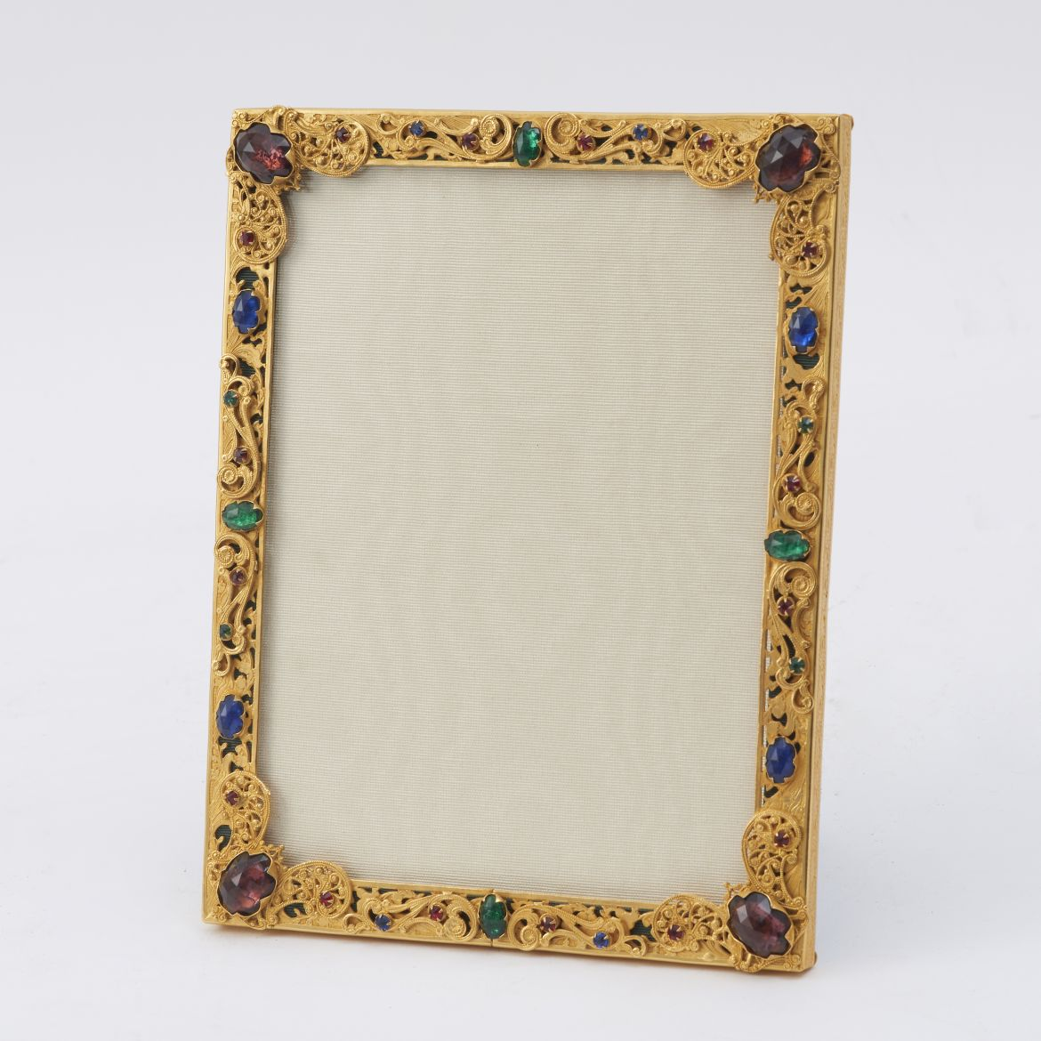 French Frame With Filigree Decoration