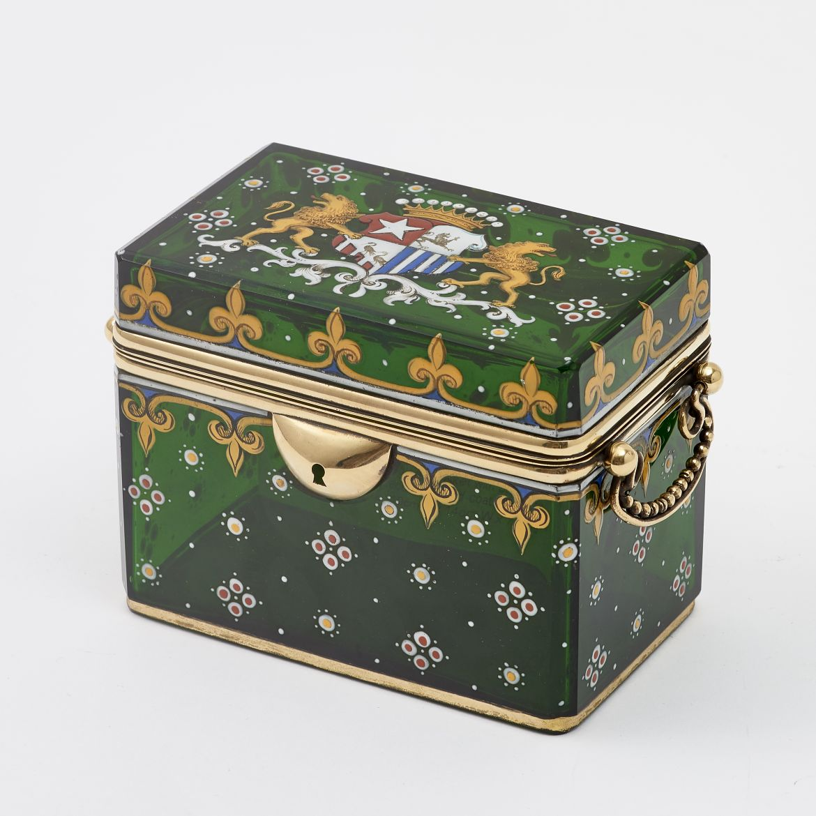 Casket With Coat Of Arms