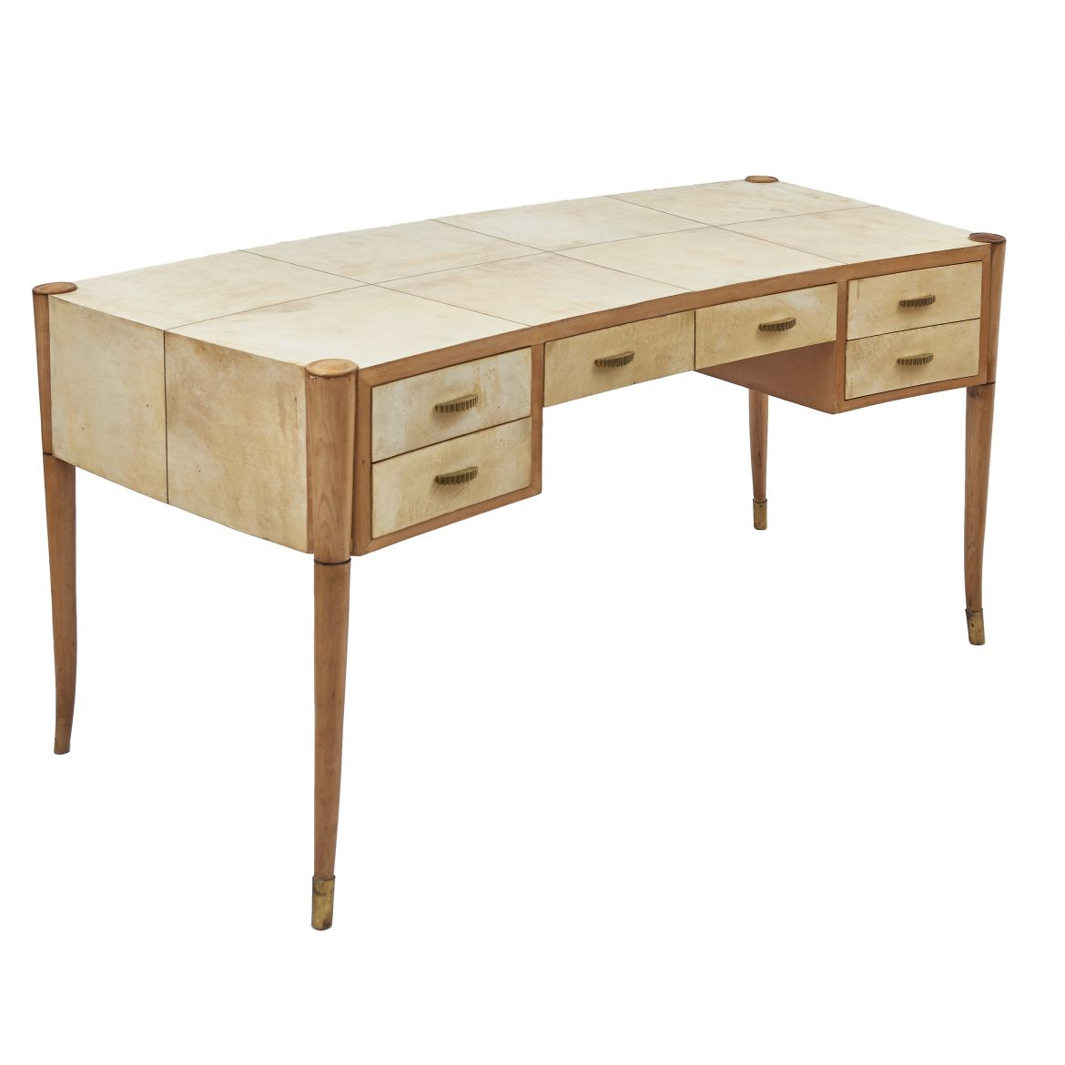 Maple & Vellum Desk