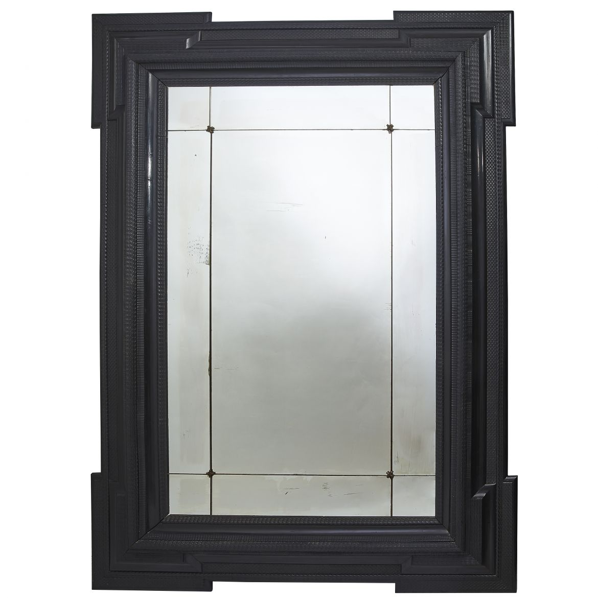Monumental Ebonised Mirror