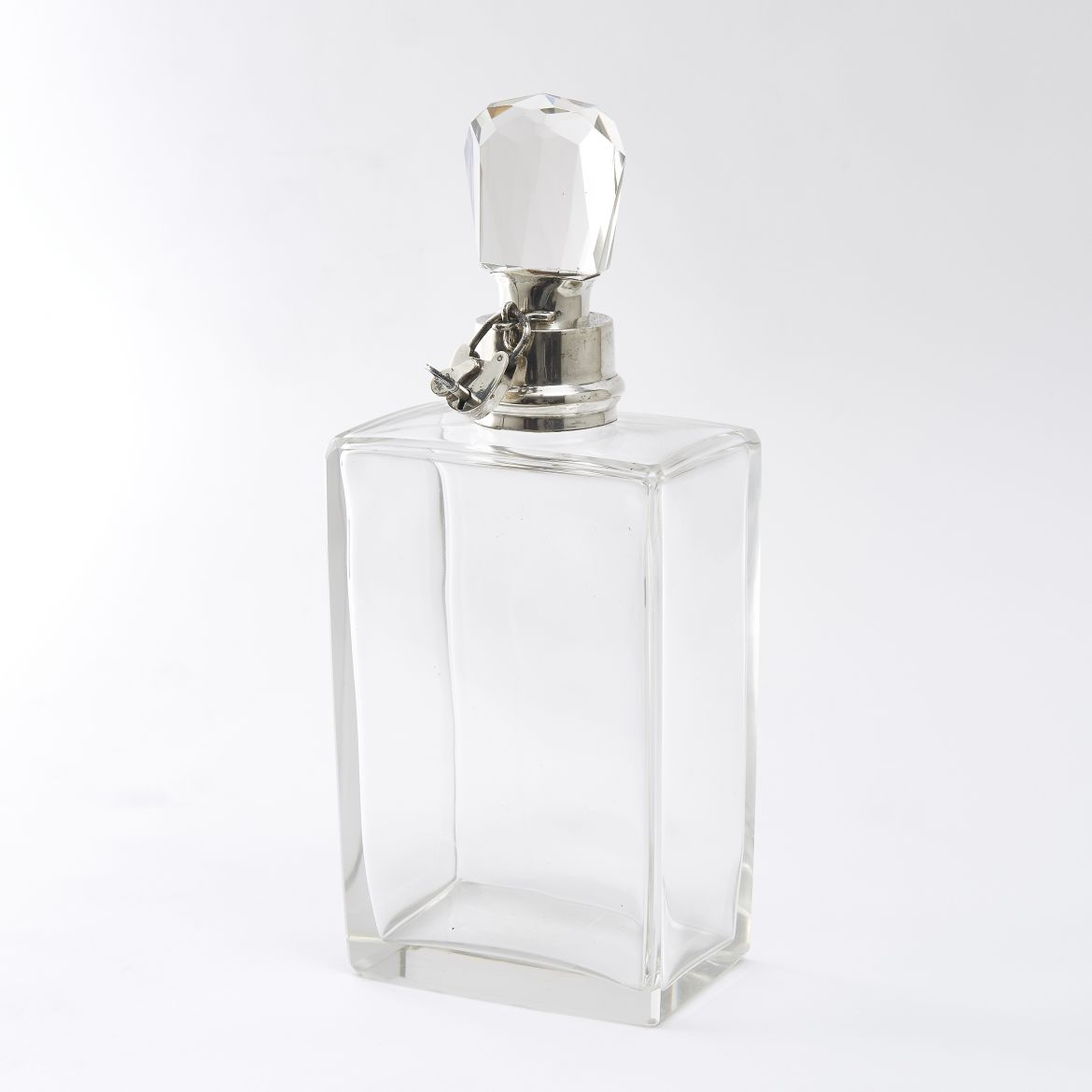 Art Deco Locking Decanter