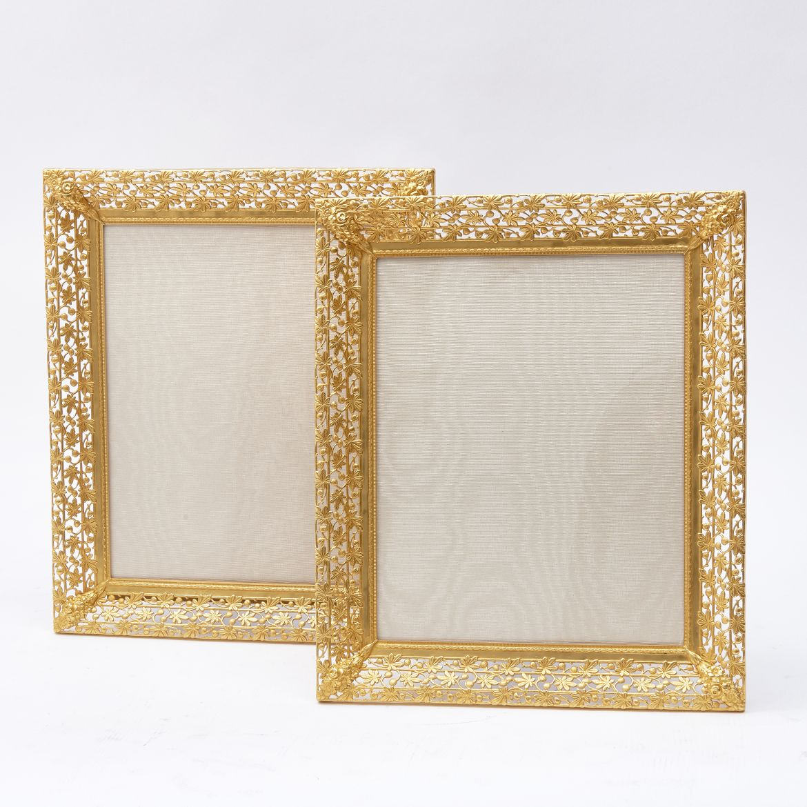 French Bronze Foliate Frames