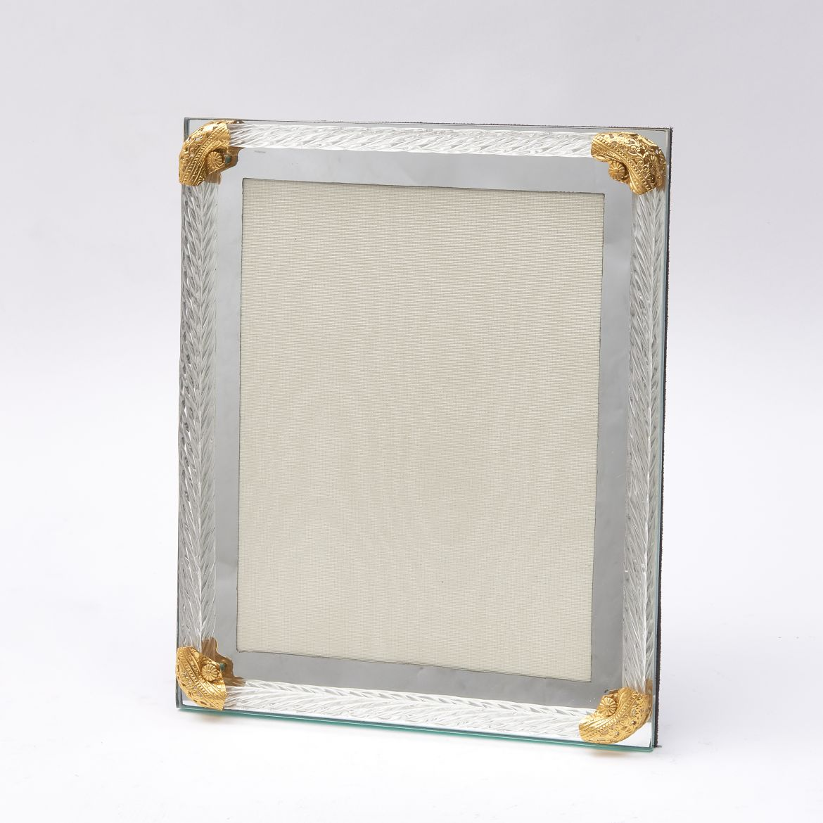 Italian Mirrored Photo Frame