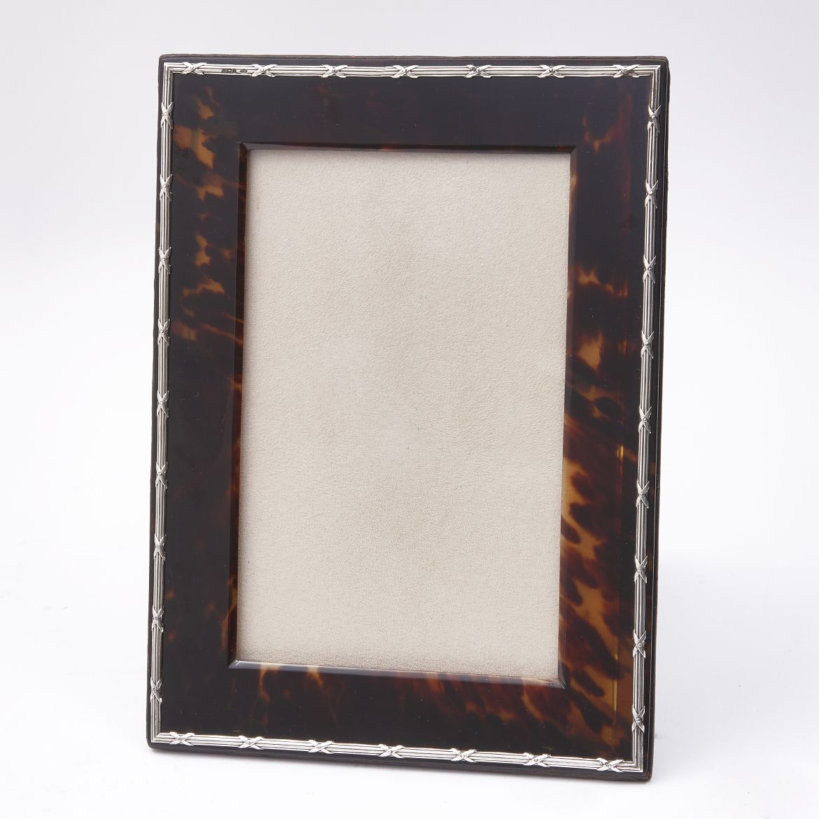 Large Edwardian Tortoiseshell Photo Frame