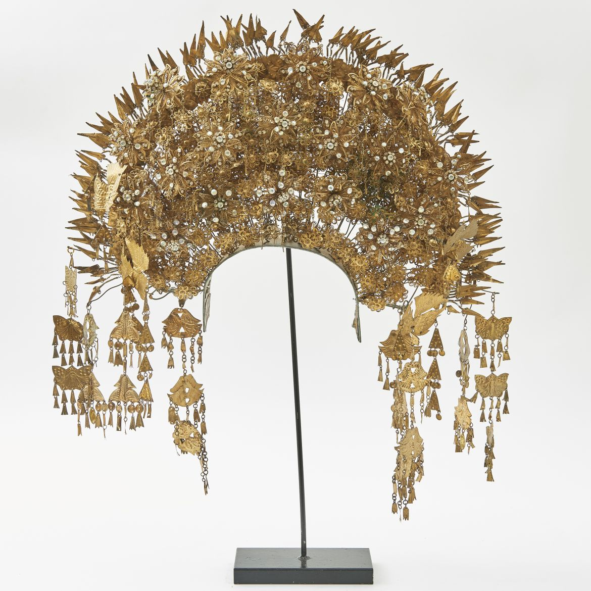 Decorated Sumatran Headdress
