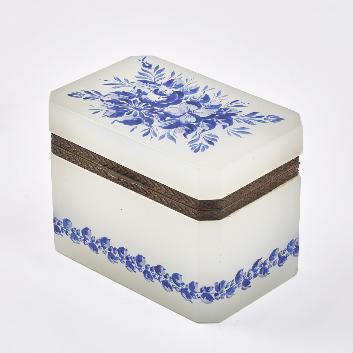 Opalescent Glass Casket